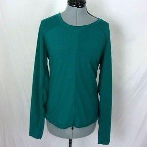 Marmot Top Long Sleeve T shirt Teal large